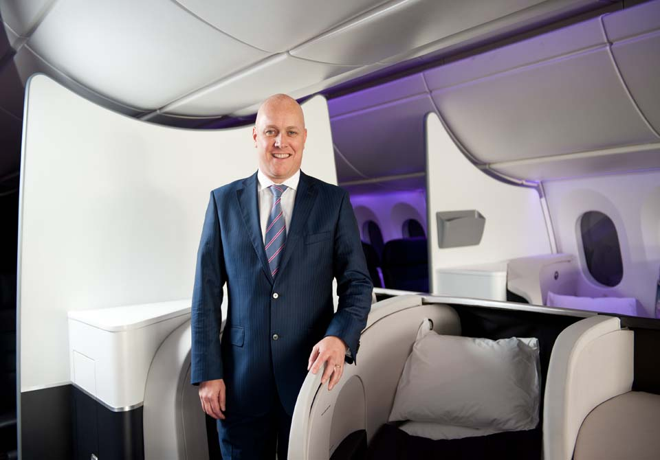 Christopher Luxon - Air New Zealand