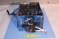 damaged 787 battery