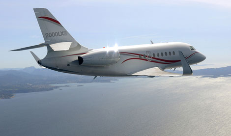 Falcon 2000 LXS