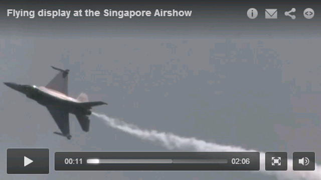 Singapore Airshow video