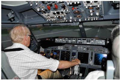 A330 simulator
