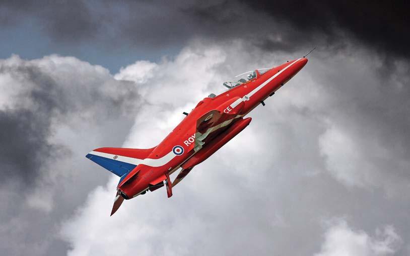 RAF Red Arrows British Aerospace Hawk T1A XX319