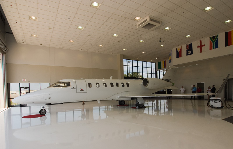 Learjet 40 experimental
