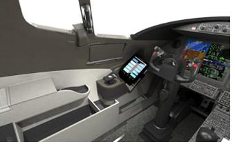 Learjet 85 cockpit