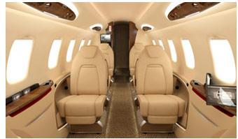 Learjet 85 interior