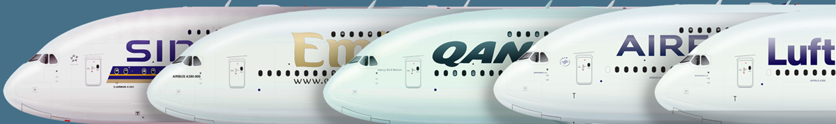 A380 banner
