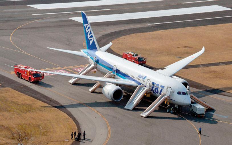 ANA emergency landing
