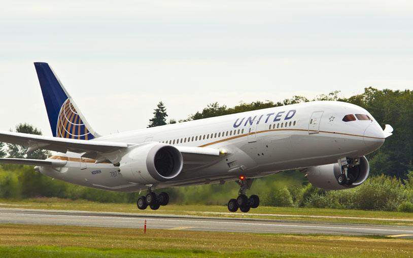 United Airways 787